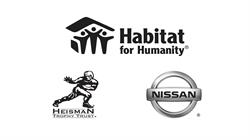 Nissan, Heisman, Habitat for Humanity