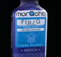 marQaha Blueberry Chamomile flasQ 2oz.