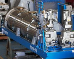 sludge dryer heat exchanger ash cooler technology