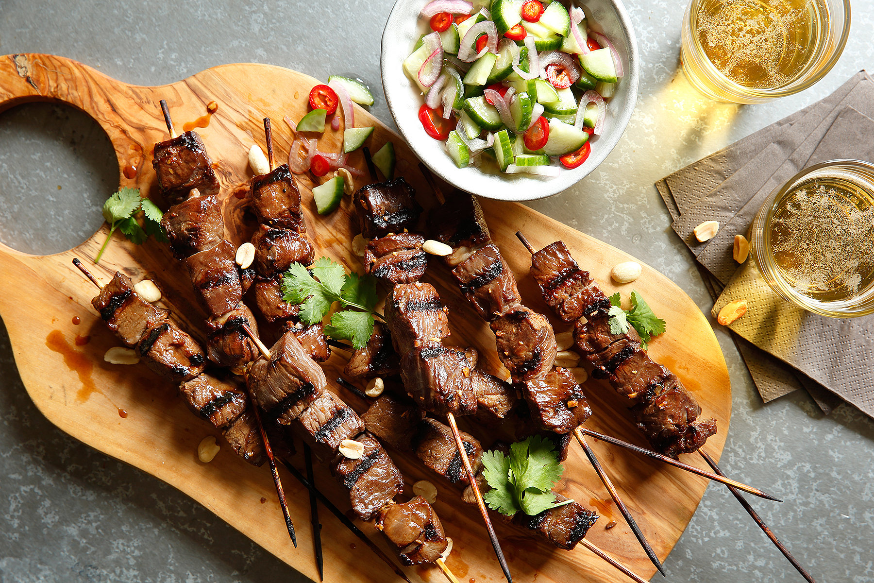 Go Global This Summer With American Lamb Kebobs