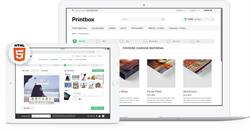 Printbox HTML5 software for canvas, wall art and posters
