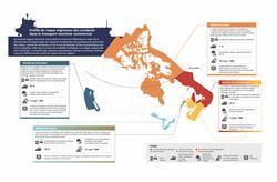 Profils de risque régionaux des accidents dans le transport maritime commercial -- infographique