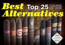 Top 25 Cigars of 2015 - Best Alternatives