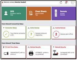 Digital Butler App Dashboard