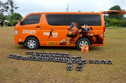 Sunwing Foundation delivers new soccer shoes to Bijagua, Costa Rica