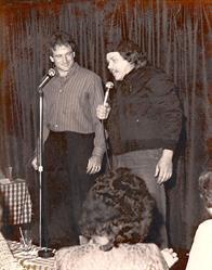 Robin Williams and Sam Kinison at Yuk Yuk's