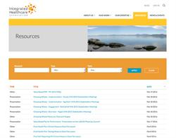 Website Design and Development for Integrated Healthcare Association