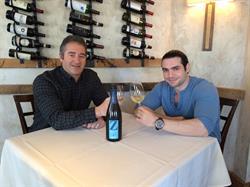 Chad A. Verdi Producer and Tommy DeNucci at La Masseria, East Greenwich, RI