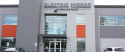 Main entrance to Electric Mirror