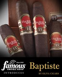 Baptiste By Oliva Cigars