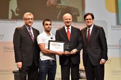 iMerciv Inc. CFO Arjun Mali receives first place at OCE Discovery's Accessibility Innovation Tech Pitch Competition
