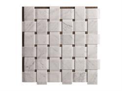 """Texo marble """"woven"""" tiles"""