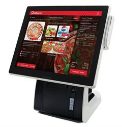 Qwickserve. The restaurant self-service ordering kiosk by Petrosoft.