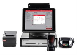 SmartPOS 400 with the Embedded Qwickserve Ordering and Delivery Solution