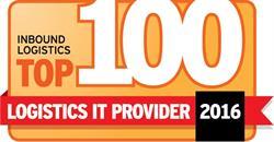 Inbound Logistics Top 100 Logistics IT Providers Award