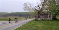 Cycling through Valley Forge