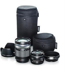 Olympus Travel Kit with 14-150mm f/4-5.6 and 17mm f/1.8 Lenses