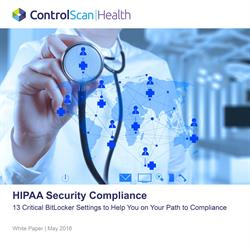 HIPAA Security Compliance White Paper | ControlScan