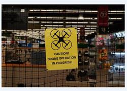 Drone Testing Cage at B&H Photo