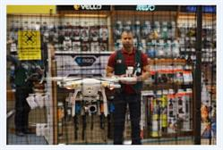 Drones Testing Cage