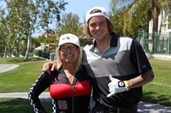 Tillys Co-Founder and TLC founder, Tilly Levine with Pro Skateboarder, Ryan Sheckler