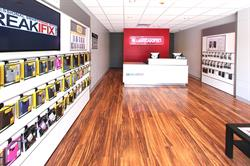 uBreakiFix specializes in same-day repair service of small electronics, repairing cracked screens, water damage, software issues, camera issues and other technical problems at its more than 200 stores in North America.