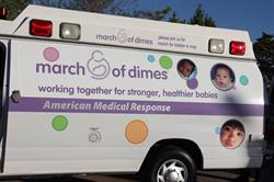 American Medical Response Increases Its Support of March of Dimes in the Inland Empire