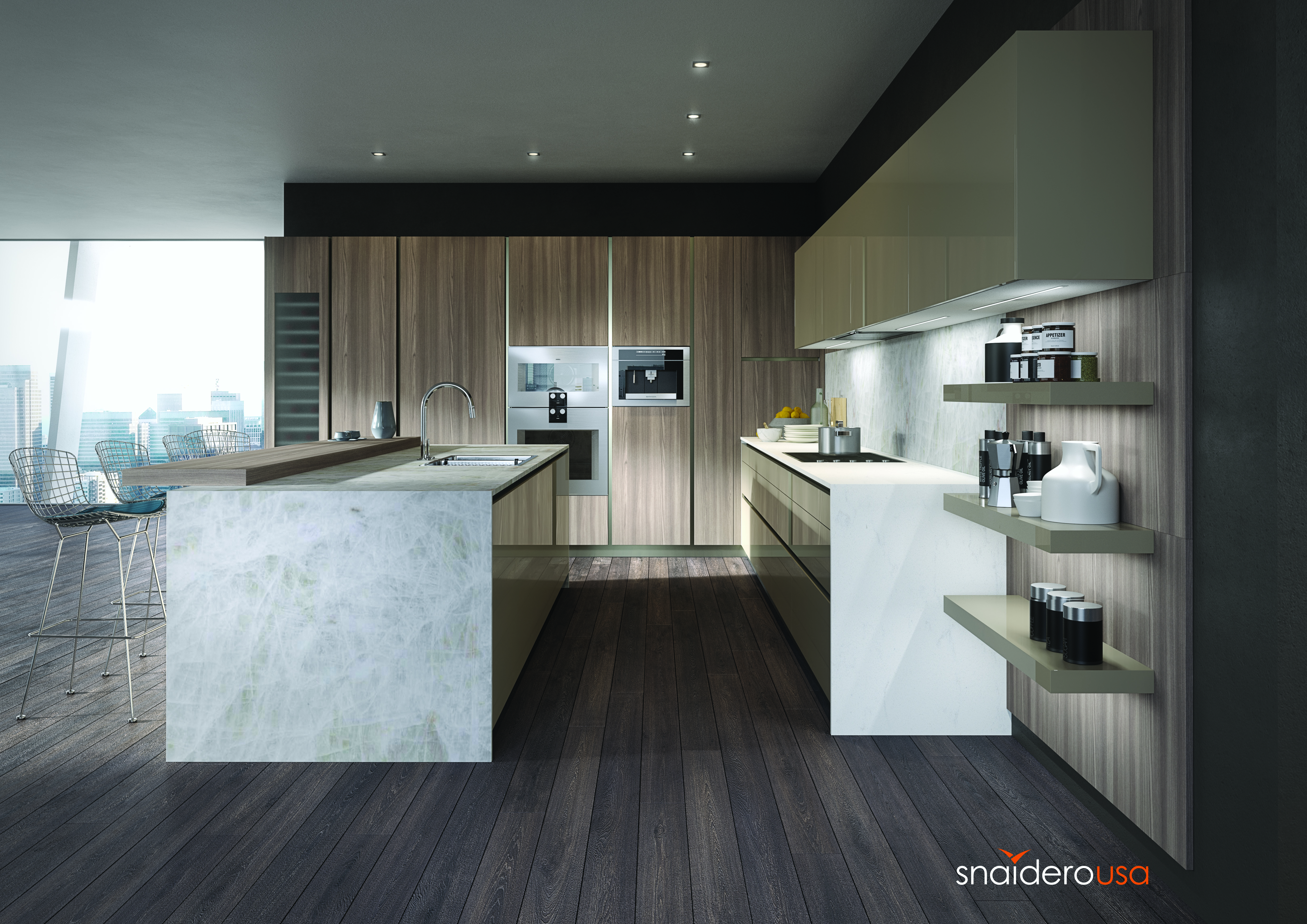 Snaidero USA Commissioned As The Kitchen Bath Provider For Chicago 39
