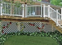 Xpanse lattice adds charm and character to your home.