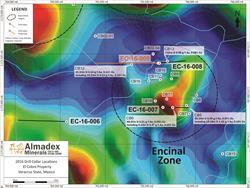 Encinal Drill Collar Locations