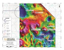 El Cobre Project Exploration targets