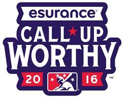 MiLB-Esurance Call-Up Worthy logo