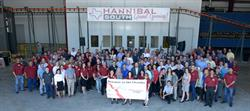 This large gathering of material handling leaders made history celebrating this important milestone for Hannibal Industries