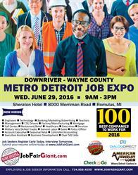 Michigan Job Fair - June 29, 2016