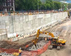GeoSolv Ductile Iron Piles Installation (Hamilton, Ontario)