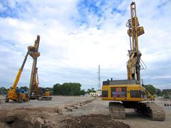GeoSolv Rammed Aggregate Pier Installation (Burlington, Ontario)