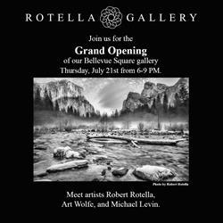 Bellevue Grand Opening Rotella Gallery