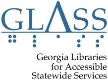 Logo for Georgia Libraries for Accessible Statewide Services