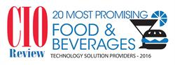 SafetyChain Software is recognized in CIOReview's Top 20 Food & Beverage Industry Solution Providers