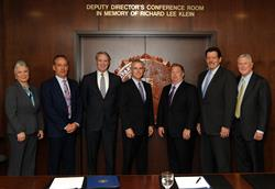 ASIS and FBI sign MOU to foster collaboration on national safety and security issues.