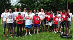 2014 Adventure Team Challenge Washington D.C. athletes.