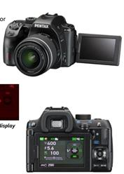 Pentax K-70 DSLR Camera with LCD