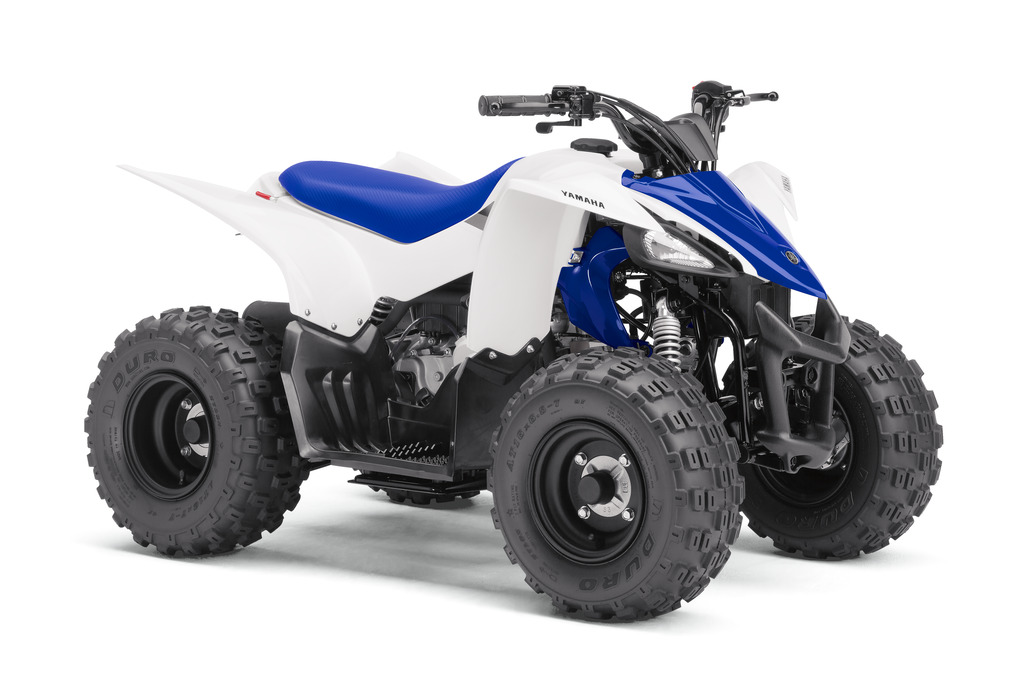 Yamaha announces all new yfz50 youth atv for riders 6 and for Yamaha 90cc atv