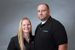 HouseMaster Franchise Owners, Brad and Diana Walters of Magnolia, KY