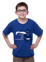 St. Jude kids size superhero T-shirt