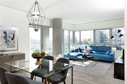 Choose from studio, one-bedroom, two-bedroom and penthouse apartments.
