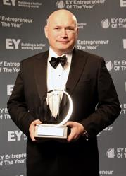 CEO Sergey Gorlov of Petrosoft awarded with the EY Entrepreneur Of The Year(R) 2016 Award in the technology software category in the Western Pennsylvania and West Virginia program.