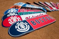 Element and Major League Baseball Partner on Board Series