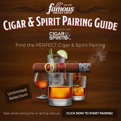 Cigar & Spirit Paring Guide