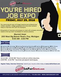 Big Michigan Job Fair July 29